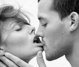 biting her lip